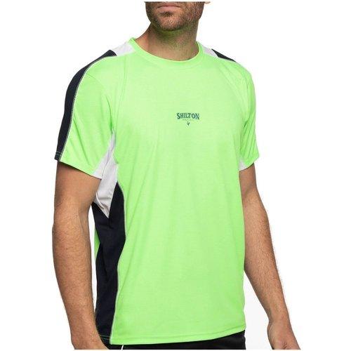 T-shirt sport tech col rond - SHILTON - Modalova