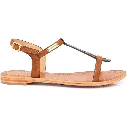 Sandales entre-doigts en cuir HAMAT - LES TROPEZIENNES PAR M BELARBI - Modalova