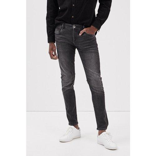 Jeans skinny effet used Coton Bio - BONOBO - Modalova