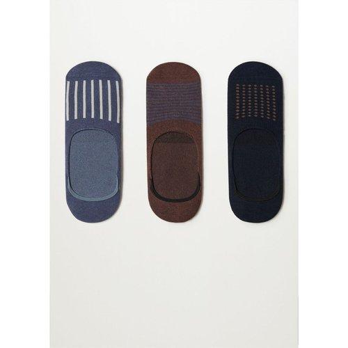 Pack chaussettes invisibles - mango man - Modalova