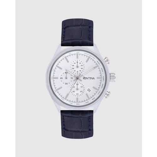 Montre CY9989 chronographe cuir - PONTINA - Modalova
