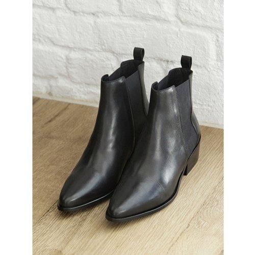 Boots chelsea cuir - CYRILLUS - Modalova
