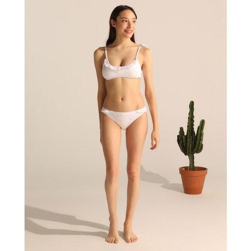 Bas de bikini classique Navy uni - GREEN COAST - Modalova