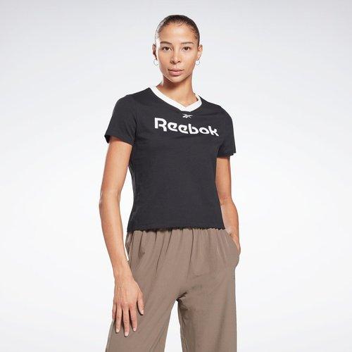T-shirt Linear Logo - REEBOK SPORT - Modalova