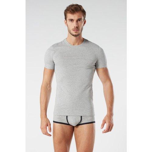 T-Shirt ras de cou en coton supima® - INTIMISSIMI - Modalova