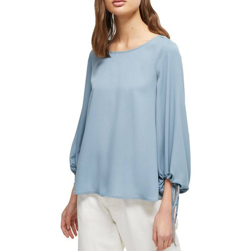 Blouse unie manches longues - French Connection - Modalova