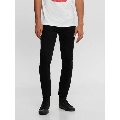 Jean skinny ONSWarp black - Only & Sons - Modalova