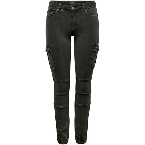Pantalon skinny, effet cargo, longueur 30 - Only - Modalova