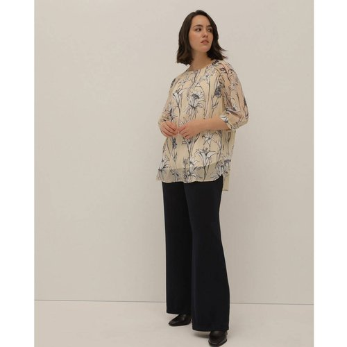 Pantalon large Collection en maille - COUCHEL - Modalova