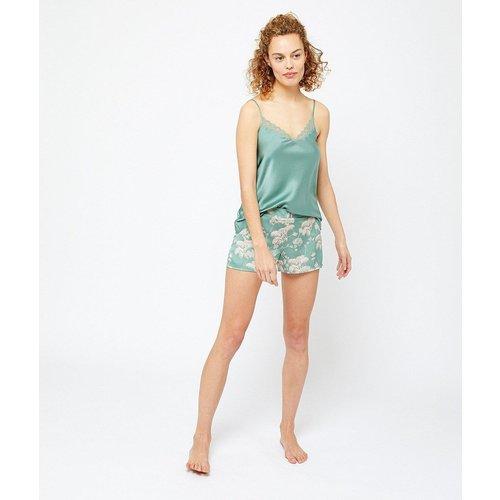 T-shirt de pyjama satiné MINT - ETAM - Modalova