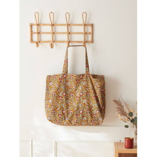 Sac shopping tissu indien - CYRILLUS - Modalova