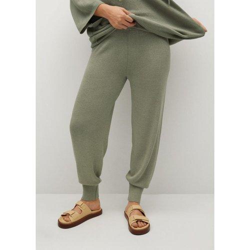Pantalon baggy maille - Violeta by Mango - Modalova