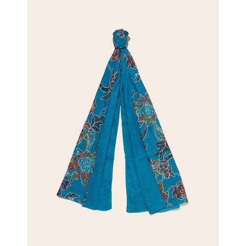 Foulard coton imprimé et uni Nilona - LA FIANCEE DU MEKONG - Modalova