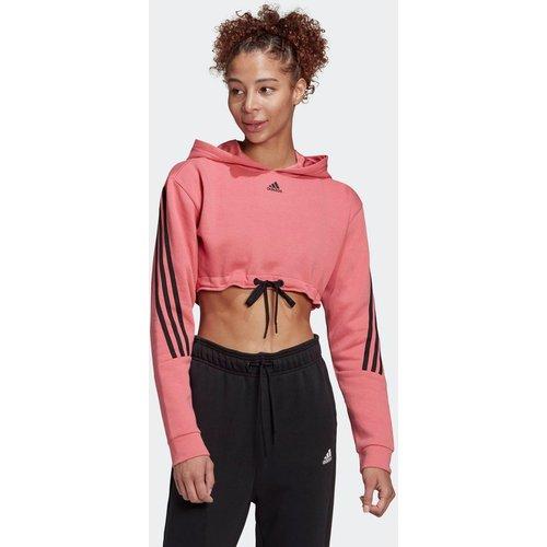 Sweat-shirt à capuche Crop - adidas performance - Modalova