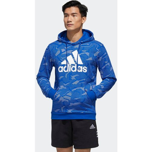 Sweat-shirt à capuche Essentials Allover Print - adidas performance - Modalova