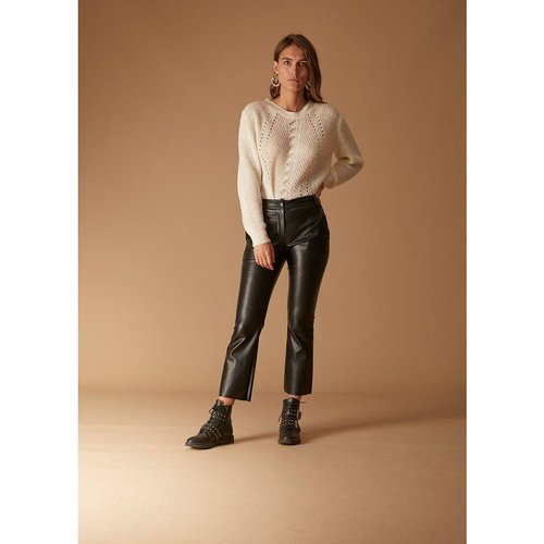 Pantalon effet cuir - LA FEE MARABOUTEE - Modalova