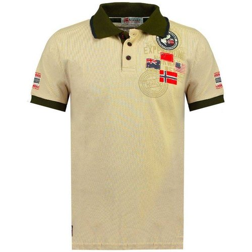 Polo manches courtes KUNDREDAL - geographical norway - Modalova