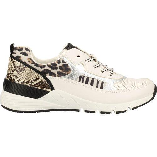 Sneaker Imitation cuir/Textile - marco tozzi - Modalova