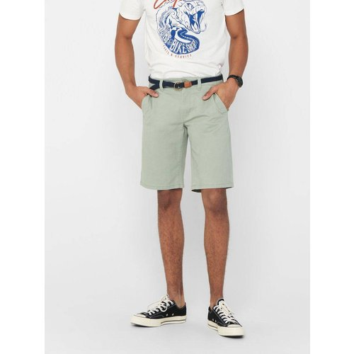 Short chino Coupe droite - Only & Sons - Modalova