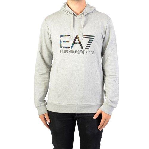 SweatShirt à Capuche Jersey - EMPORIO ARMANI EA7 - Modalova