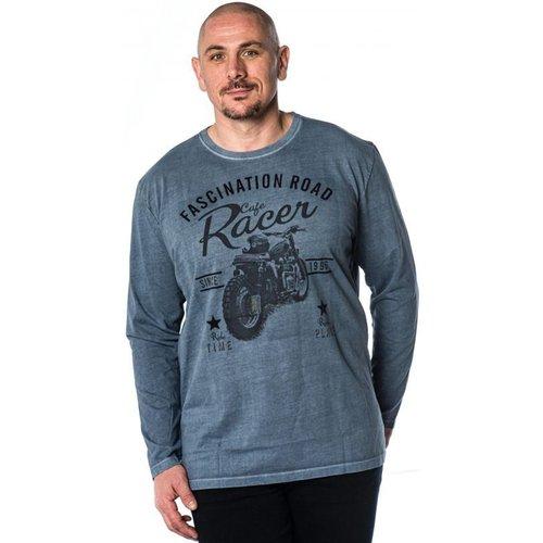 T Shirt Uni en Coton - KITARO - Modalova