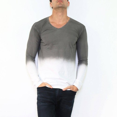 T-shirt manche longue col V KALIKOTE - HopenLife - Modalova