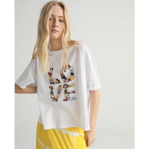 Tshirt manches courtes Snoopy - GREEN COAST - Modalova