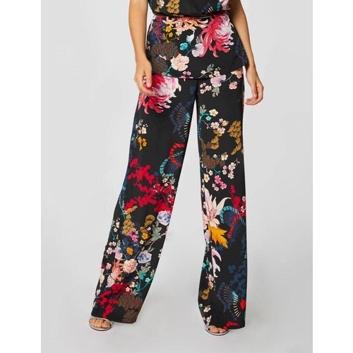 Pantalon droit taille standard imprimé - Morgan - Modalova