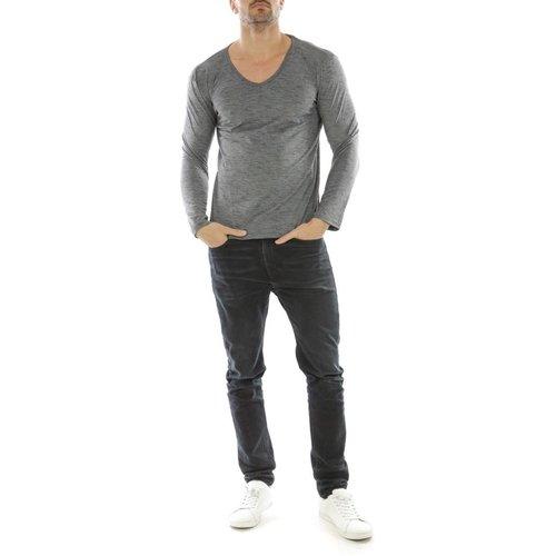 T-shirt manche longue col V KORTANA - HopenLife - Modalova