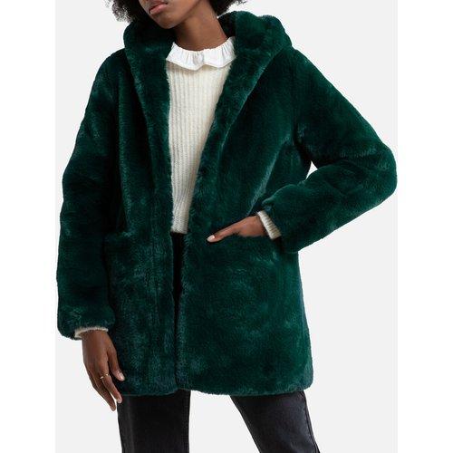 Manteau en fausse fourrure à capuche - DERHY - Modalova