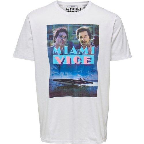 T-Shirt Imprimé sur le devant - ONLY ET SONS - Modalova