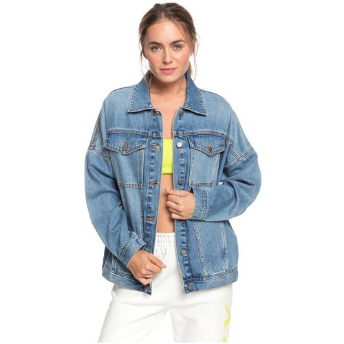 Veste boyfriend en jean KELIA THE OCEAN IS CALLING - Roxy - Modalova