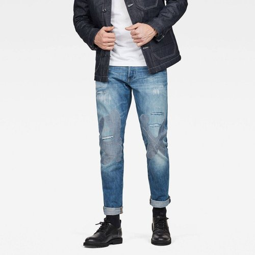 Jean Fuselé Taille Moyenne 3301 - G-Star Raw - Modalova