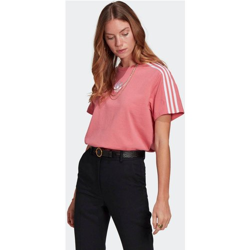 T-shirt Adicolor 3D Trefoil Loose - adidas Originals - Modalova