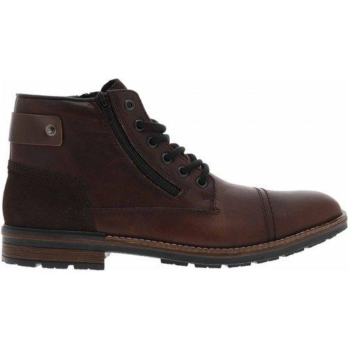 Boots cuir brun - Rieker - Modalova