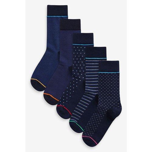 Lots de cinq paires de chaussettes à motifs - Next - Modalova