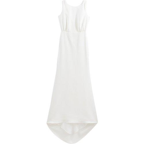 Robe de mariée longue sans manches avec traîne - BALZAC PARIS X LA REDOUTE COLLECTIONS - Modalova