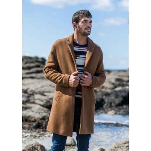 Manteau laine oversize CHARRUAU - MONTLIMART - Modalova