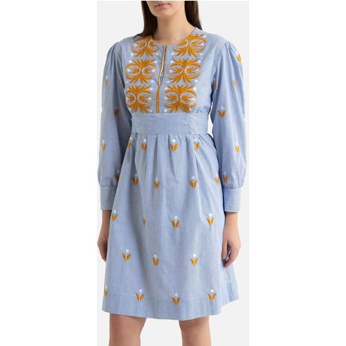 Robe brodée courte à manches longues MEXICA - Antik batik - Modalova