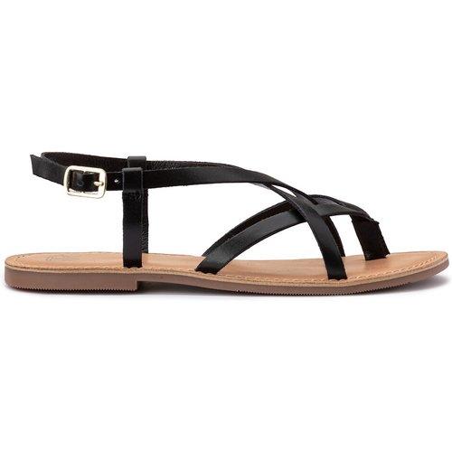 Sandales cuir entre-doigts - LA REDOUTE COLLECTIONS - Modalova
