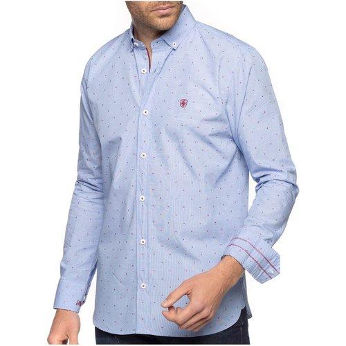 Chemise à pois tissés - SHILTON - Modalova
