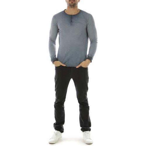 T-shirt manche longue col boutonné GOKIL - HopenLife - Modalova