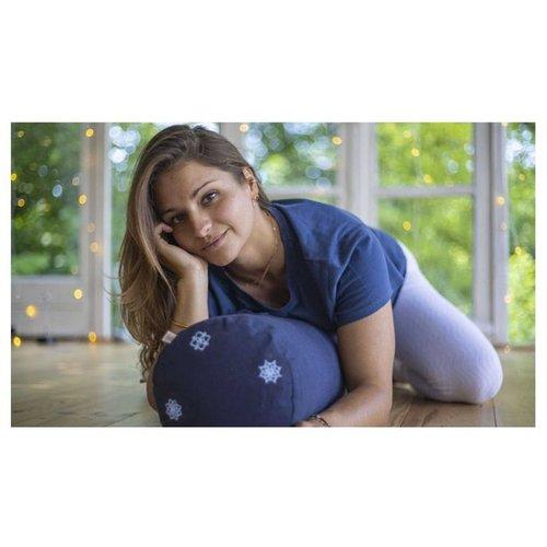 BIOVIJNANA - Tee-shirt manches courtes en coton biologique - YOGA SEARCHER - Modalova