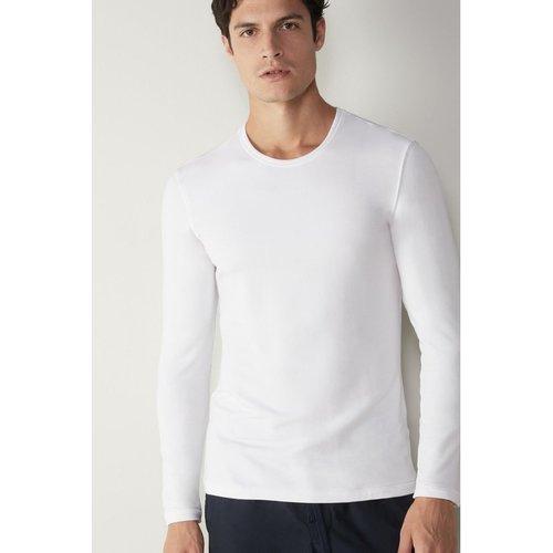 T-Shirt manches longues en cachemire - INTIMISSIMI - Modalova
