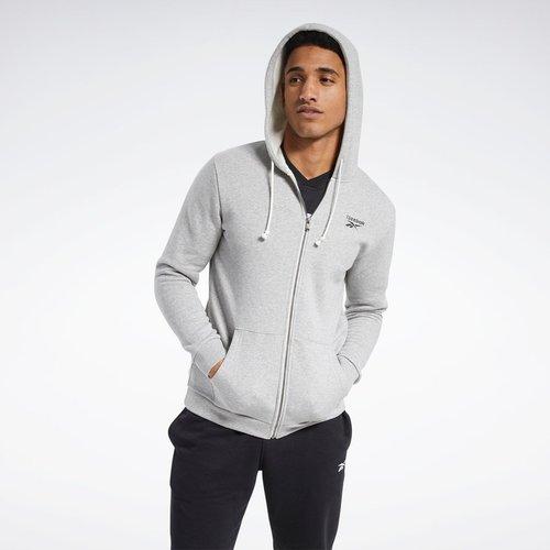 Veste à capuche Training Essentials Fleece Zip Up - REEBOK SPORT - Modalova