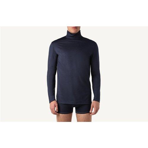 T-Shirt manches longues laine mérino col mont - INTIMISSIMI - Modalova