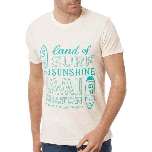 T-shirt surf manches courtes HAWAII - SHILTON - Modalova