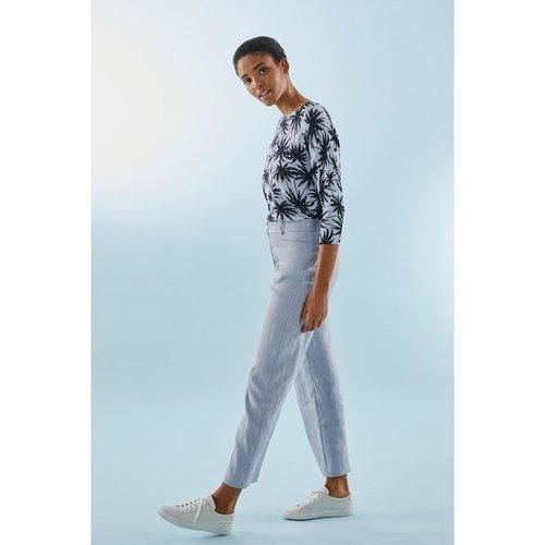 Pantalon droit en lin JOSHUA - PABLO - Modalova