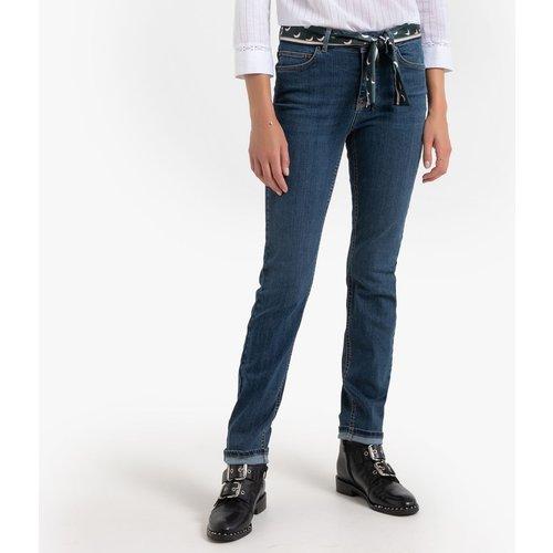 Jean slim avec ceinture tissu, L30 - Vero Moda - Modalova