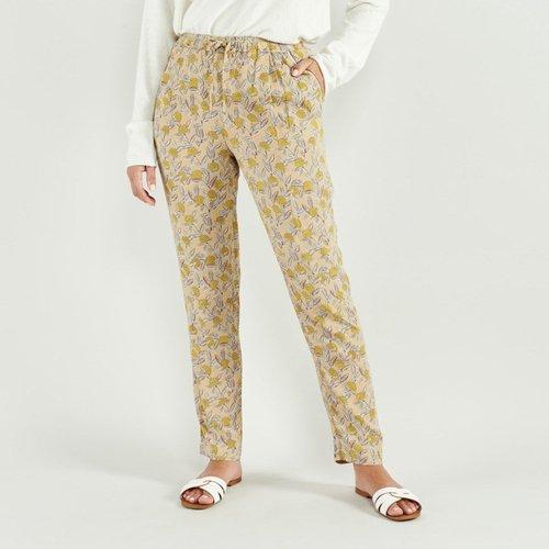 Pantalon avec imprimé fleuri ALIDIA - ARTLOVE - Modalova